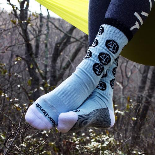 Photo of blue socks