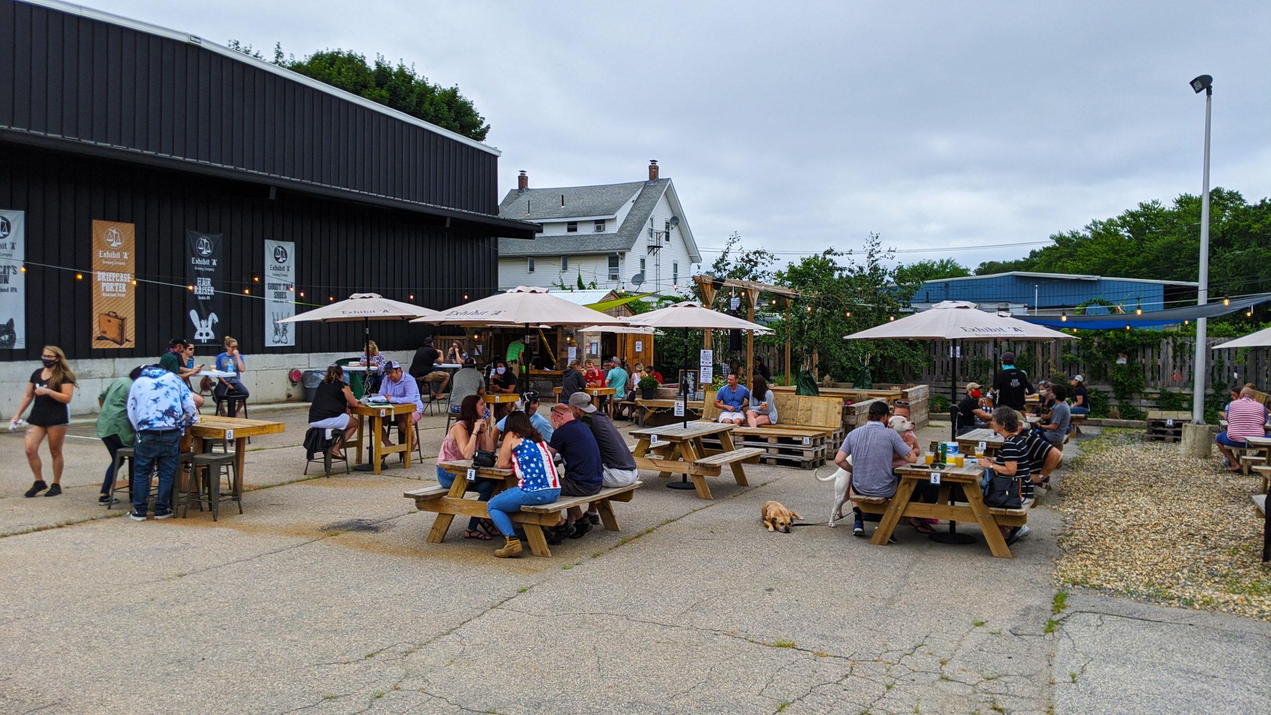 Beer Garden Photo